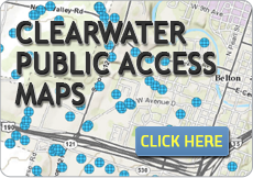 Clearwater Public Access Maps
