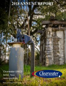 Clearwater UWCD Releases the 2018 Annual Report